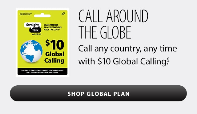 Shop Global Calling Card